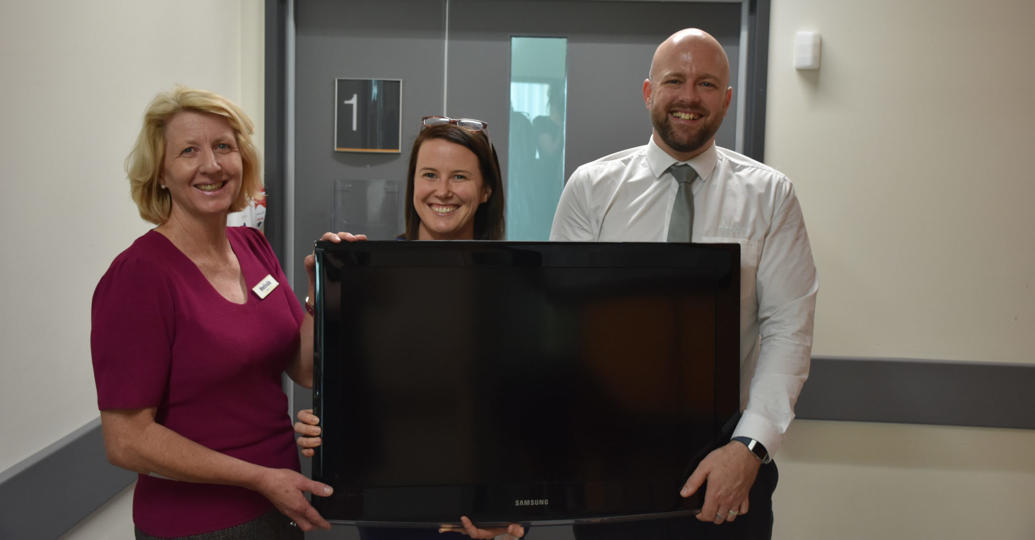 Bendigo Bank Donates TV
