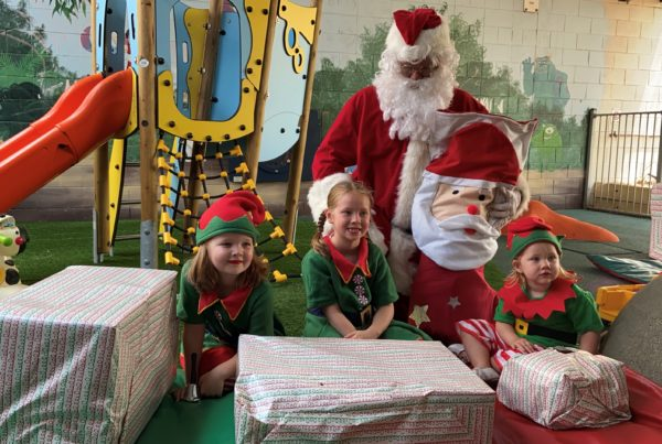 Presents donated to Children's Ward