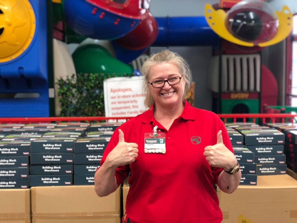 Bunnings West Ipswich Activity's Officer, Theresa